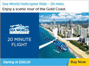 20 minute Helicopter Tour Gold Coast