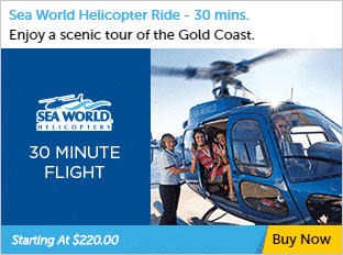 30 minute Helicopter Tour Gold Coast