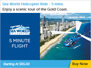5 minute Helicopter Tour Gold Coast