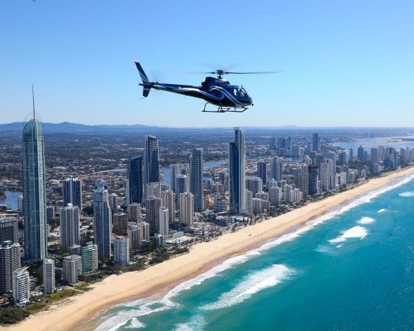 helicopter ride gold coast for 2