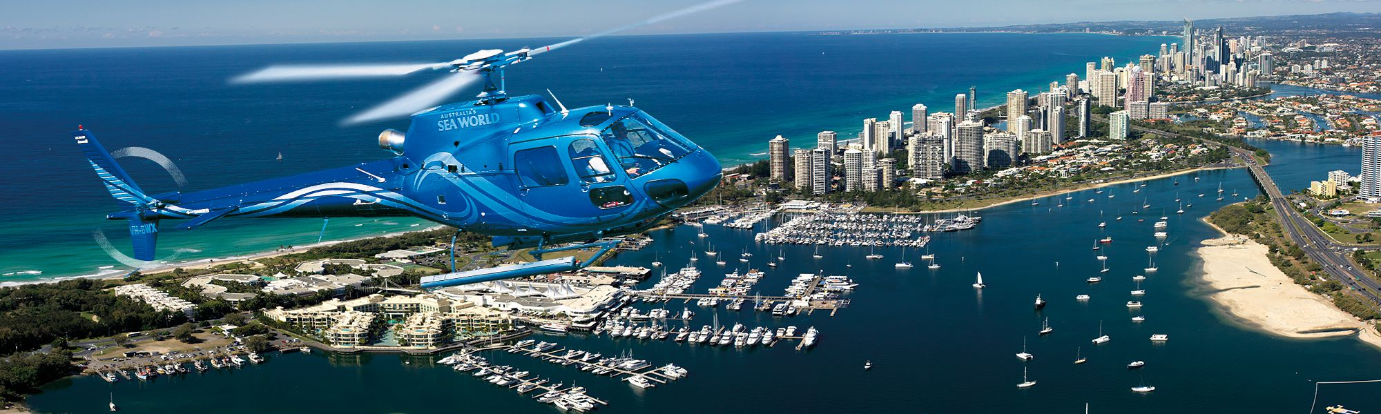 Helicopter Tours & Scenic Flights Gold Coast