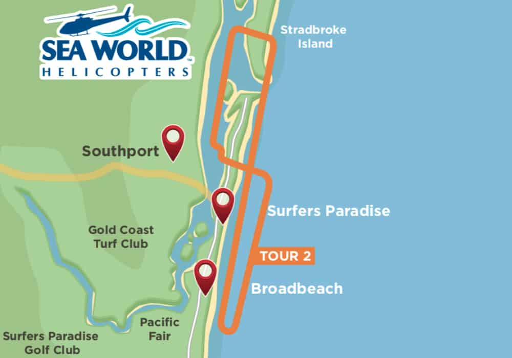 10 minute helicopter tour Gold Coast