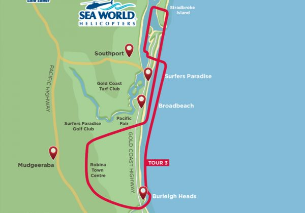 15 minute helicopter tour Gold Coast
