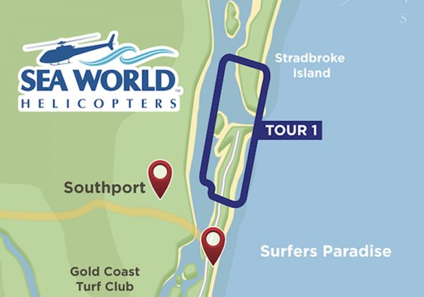 5 Minute helicopter tour Flight Gold Coast