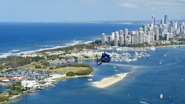 Helicopter Tour Gold Coast - 15 Minute Flight