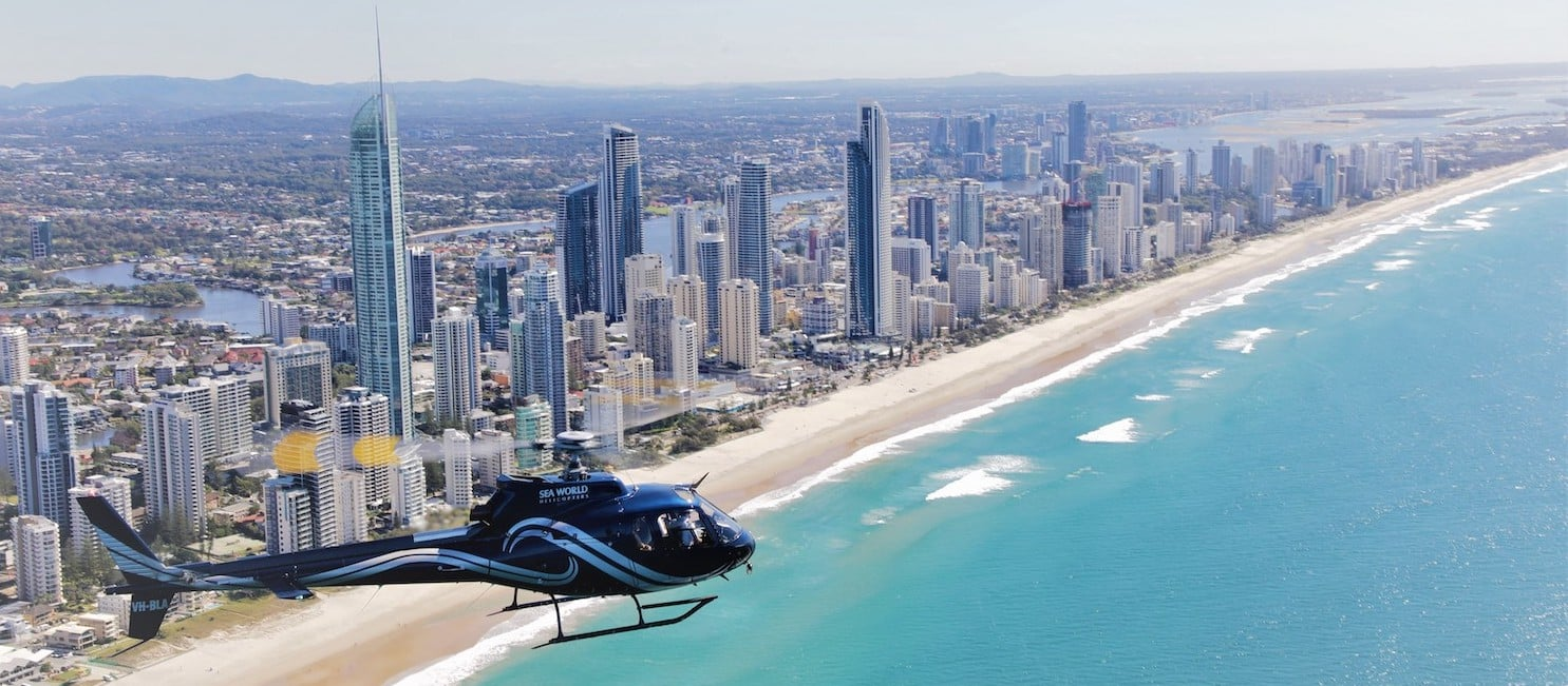 Helicopter Tours Gold Coast