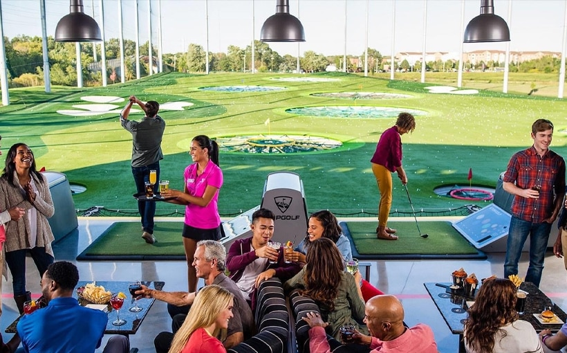Topgolf and Helicopter Joy Flight