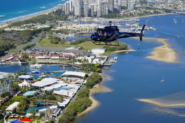 helicopter tours Gold Coast Sea World Helicopters