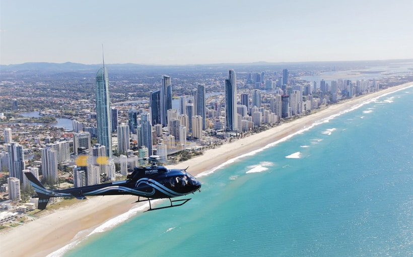 Helicopter Ride Gold Coast