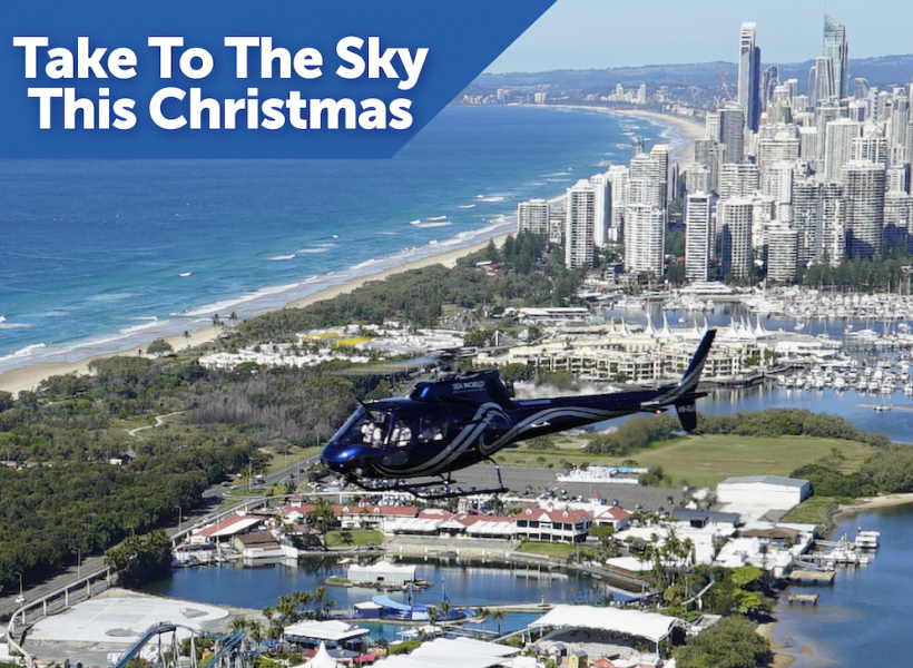 Chrismas Package Helicopter Ride