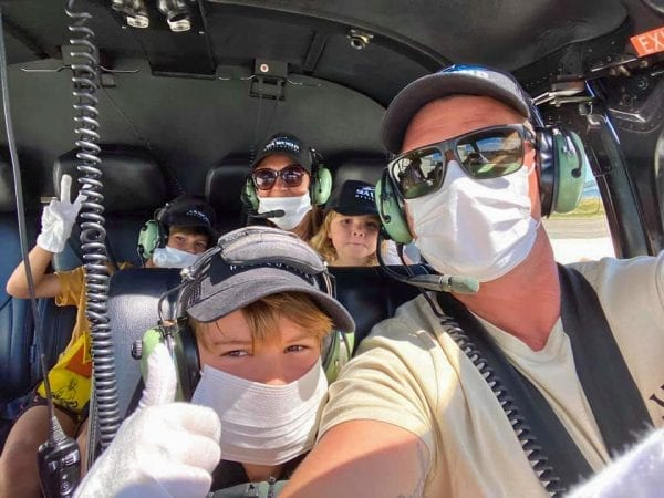 Family Helicopter Ride