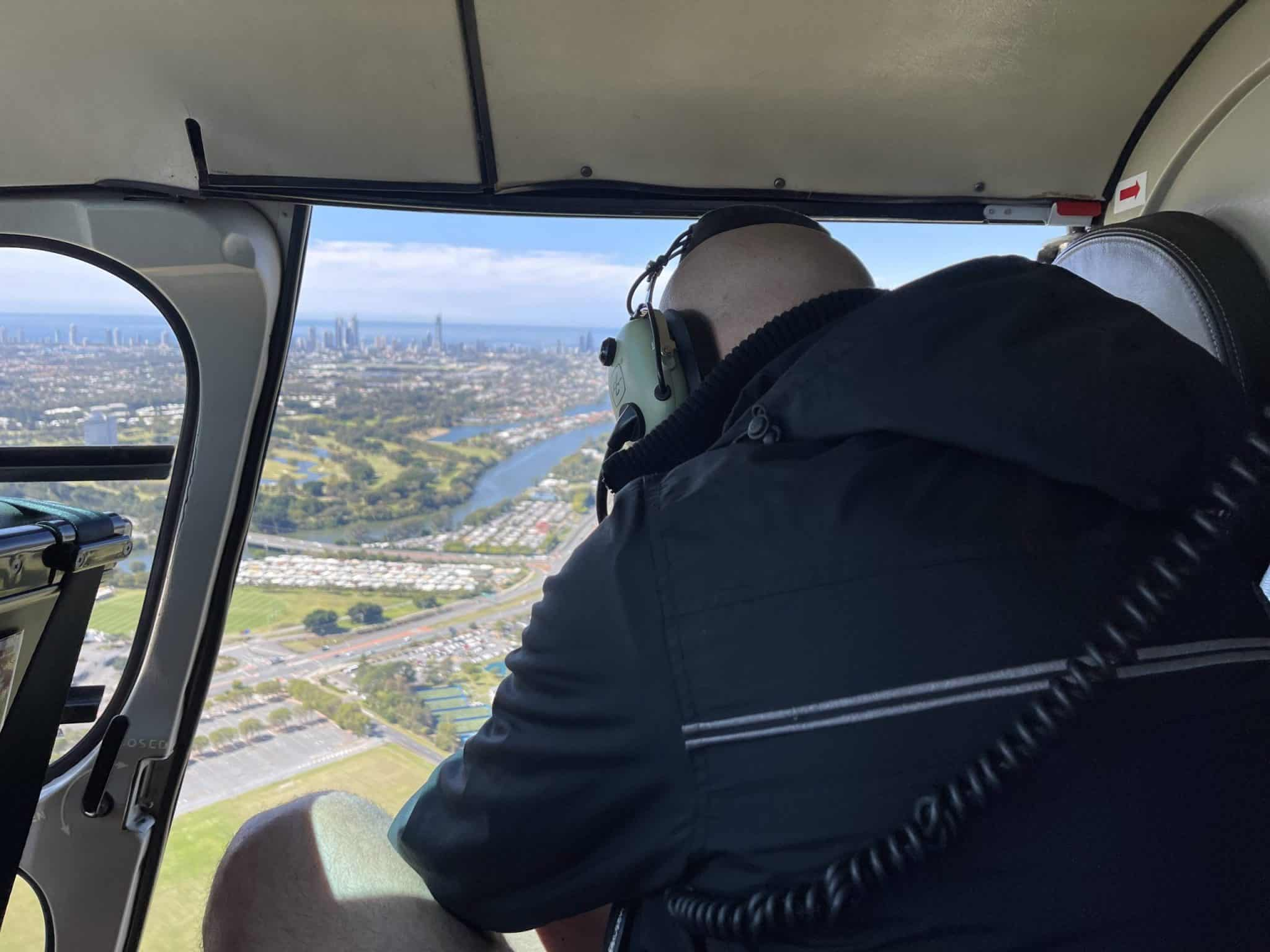 helicopter aerial photography gold coast